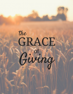 The Grace of Giving Series
