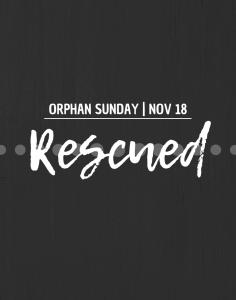 Orphan Sunday 2018