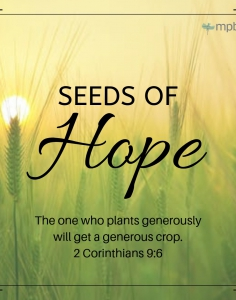 Seeds of Hope Series | March 10-April 21, 2019
