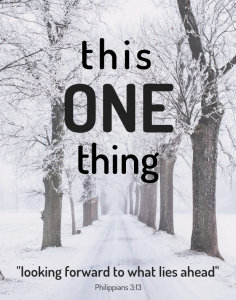 This One Thing Series